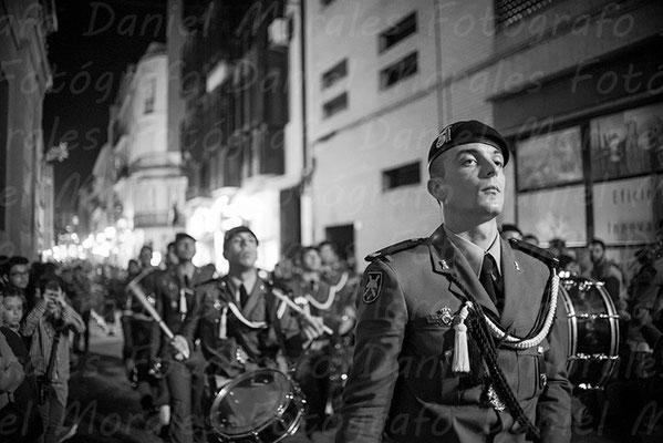 Paracaidistas del Ejército español - Santísimo Cristo de Ánimas de Ciegos Málaga - Cofradía de las Fusionadas