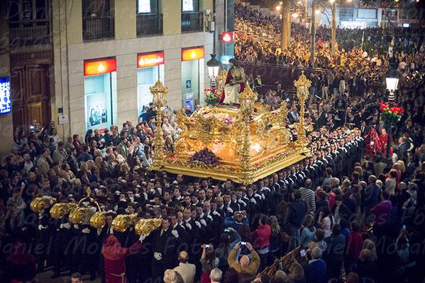 Santísimo Cristo Coronado de Espinas Málaga - Cofradía de los Estudiantes