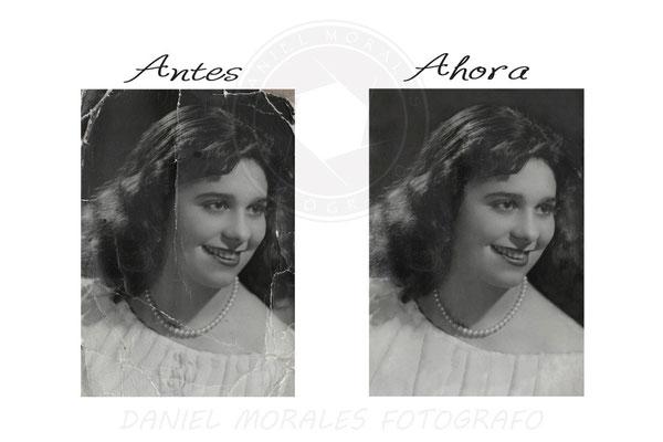 Restauración digital de fotografías antiguas