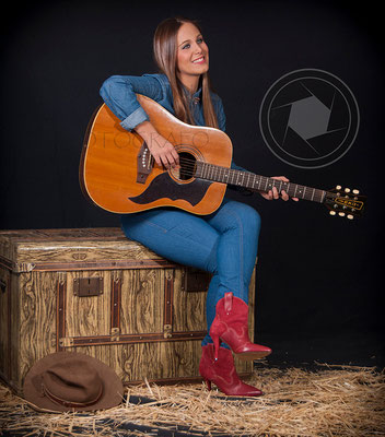 Book fotográfico moda - música country
