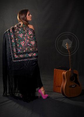 Book fotográfico moda - música flamenco