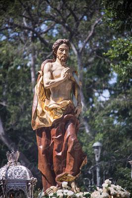 Cristo Resucitado Málaga - Agrupación de Cofradías