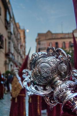 Santo Cristo Coronado de espinas Málaga - Cofradía de los Estudiantes