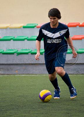 Reportaje fotográfico partido fútbol