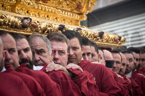 Santísimo Cristo de La Humildad en su Presentación al Pueblo Málaga - Cofradía de la Humildad