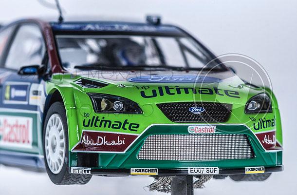Publicidad Ford Focus RS WRC Abu Dhabi