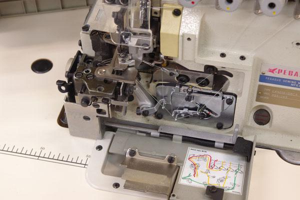 PEGASUS 中古二本針オーバーロックミシン LX5214 中古ロックミシン