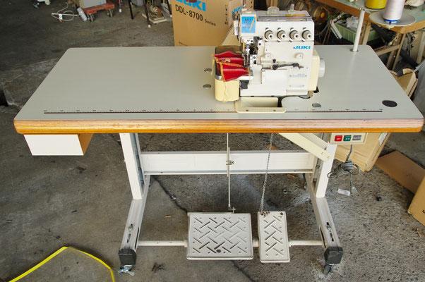 JUKI MO-3714 中古二本針オーバーロックミシン  工業用ミシン