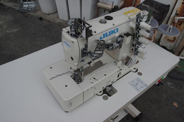JUKI MF-7723 高速フラットベット両面飾り扁平縫いミシン 工業用ミシン サーボモーター新品
