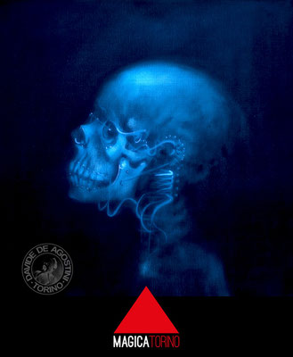 Radiografia dal 1978 / 2013  Archivio n°2 ( 2013 ) - Olio su tela 40x40 • ©DavideDeAgostini2015