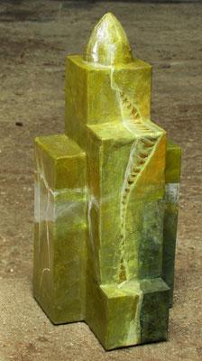 carton, acrylique - hauteur 30 cm