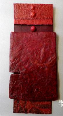 carton, peinture acrylique
