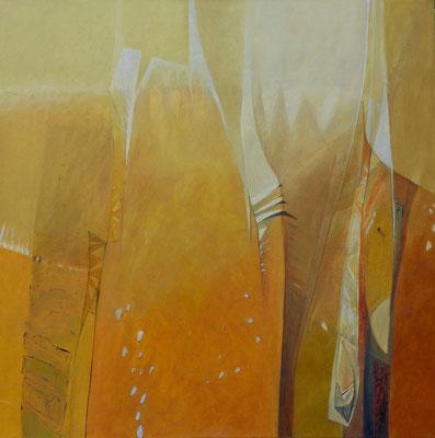 Ispahan - huile 80 x 80