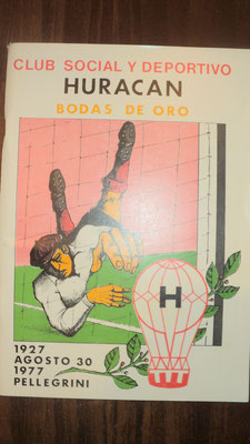 Social y Deportivo Huracan - Pellegrini - Buenos Aires.