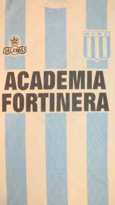 Racing Foot Ball Club - Fortin Olavarria - Buenos Aires.