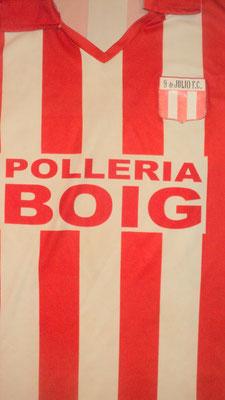 9 de Julio Fútbol Club - Villa Lia - Buenos Aires.