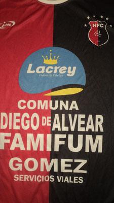 Huracán Foot Ball Club - Diego de Alvear - Santa Fe