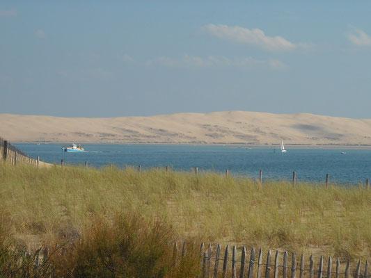 Dune du Pyla vue du Cap-Ferret