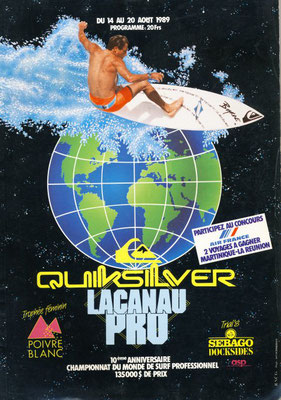 Quicksilver Lacanau Pro 1989
