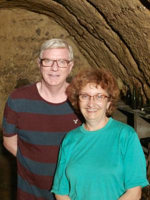Randy et Chantal, les 2 propriétaires de la Petite Lucette.