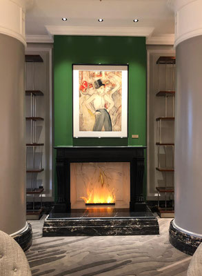 KAMINFEUER // Lobby im Ritz Carlton Berlin, sold