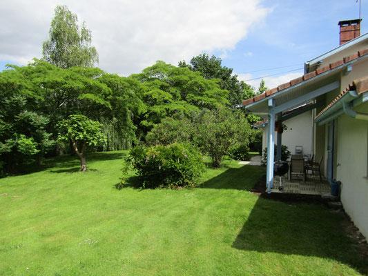 Jardin - Gîte de Marcadé - Clermont - Landes Chalosse