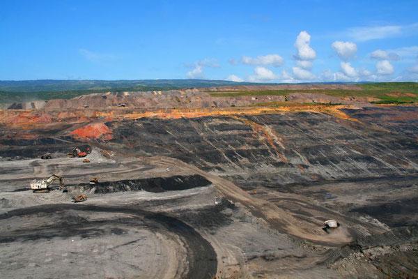 Déforestation pour l'économie des minerais - Photo tirée de Eye on Latin America