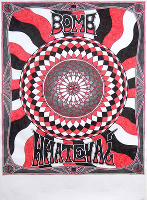 Tourplakat für Bomb Whateva¿ - 2014