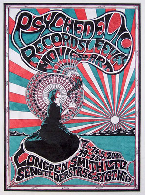 Psychedelic Recordsleeves Movies & Art - 2011