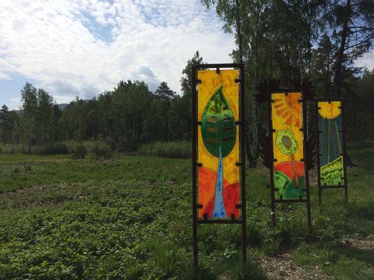 Regionale Glaskunst in den Natur Art Parks, Foto: Tourismusverband Ostbayern e.V., Stefanie Graf