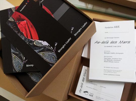 Invitation expo personnelle à la Fondation ABpi de Lausanne