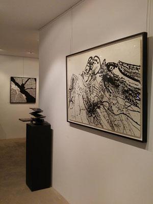 Galerie Pascal Lainé, Ménerbes, aux côtés ici de Prassinos etE. Viard
