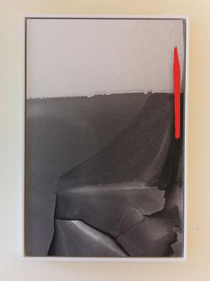 La petite ligne rouge, 40x60 cm, 2015.