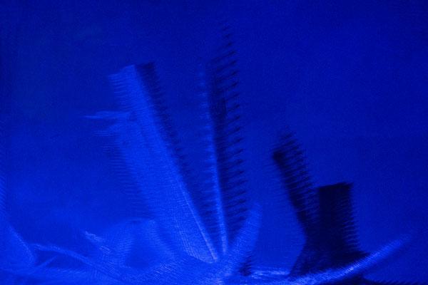 Blue Submarine #1, 60x90 cm, 2018