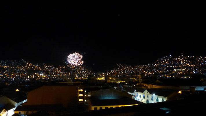 """Vue depuis les toits chez """"Mama Cusco"""""""