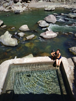 Une des piscines, 36°