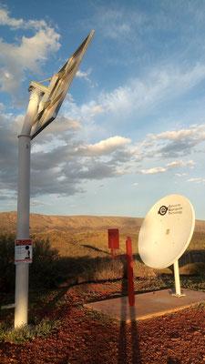 Cette antenne sert à amplifier le signal du téléphone