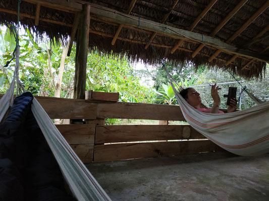 Aux cabanes, c'est relax !