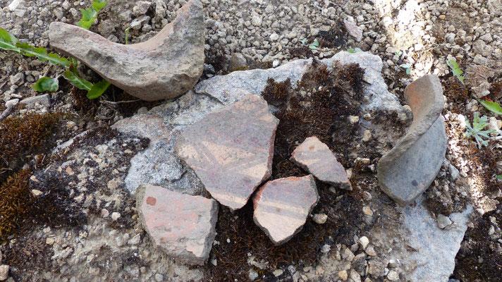 J'ai retrouvé des fragments de poteries ;)