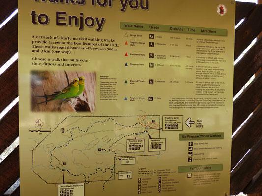 Pour ceux qui veulent un aperçu de la rando Orminston Gorge