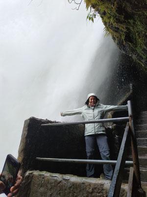 Juste après cette photo, un cou de vent m'a fait prendre une douche !!