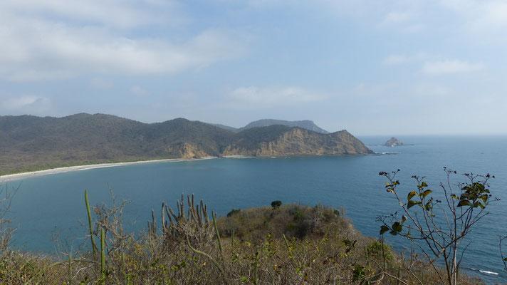 La grande plage de Los Frailes