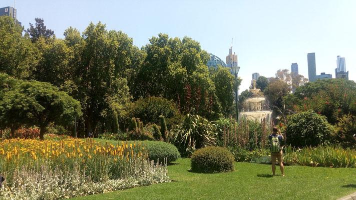 Jardin du Melbourne museum