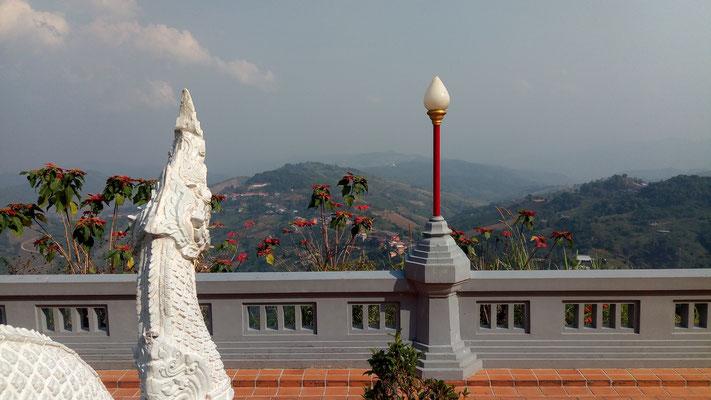 Vue depuis le temple