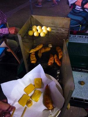 チーズ・竹輪・手羽中・ササミ・シシャモ・ソーセージ・ウズラの水煮