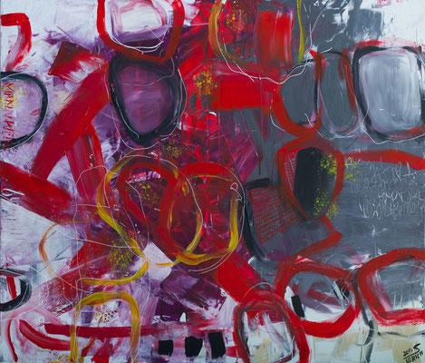 Mannweib - Acryl auf Leinwand, 140x120, 2017, S. Ulrich, verkauft