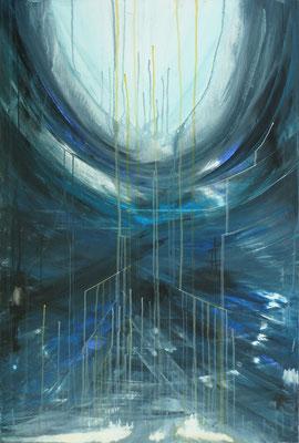 Lichtblick - Acryl auf Leinwand, 60x90 cm, 2009 - S. Ulrich - VERKAUFT!