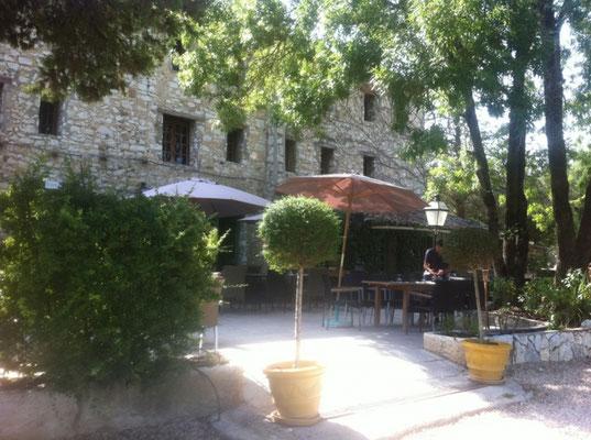 site du Restaurant Les Jardins de St-Georges