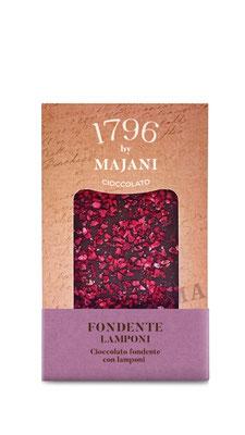 Le Golose Collection: Dark chocolate & raspberries (115g)