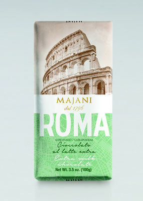 City Roma milk chocolate bar